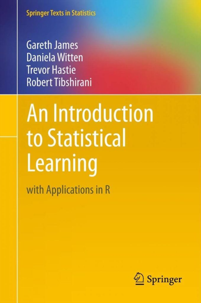 An Introduction to Statistical Learning e-book