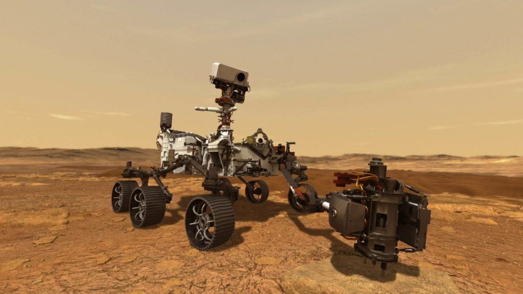 perserverance rover