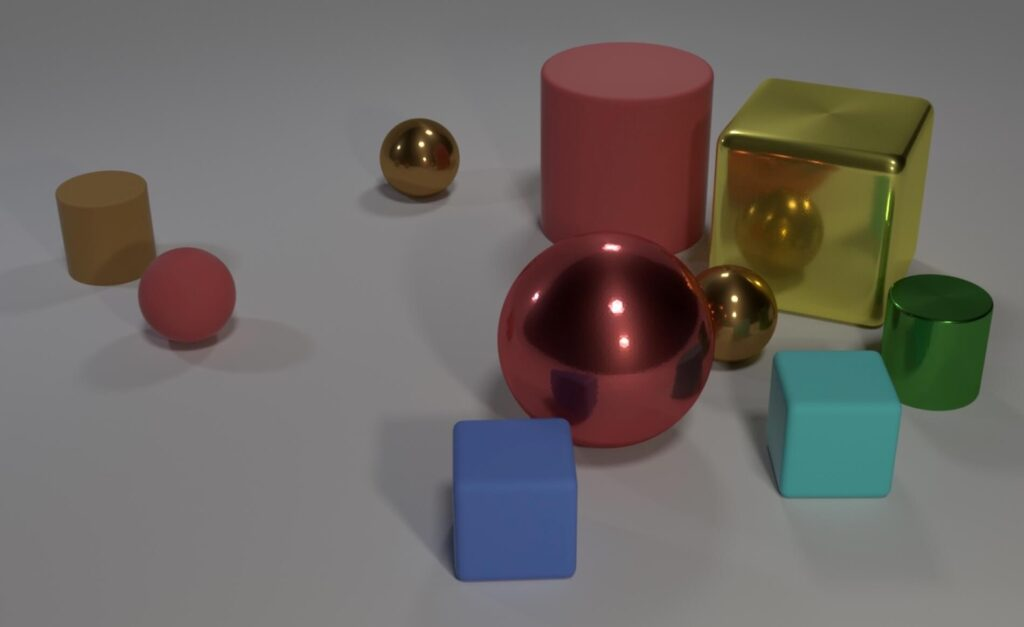 image of cubes and squares